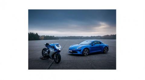 オートバイメーカーMV AGUSTAとコラボレーション。スーパーヴェローチェ アルピーヌ